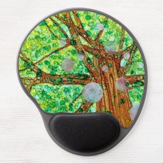 Bubbles - Original alcohol ink design Gel Mouse Pad