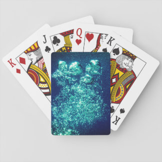 Bubbles Playing Cards