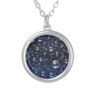 Bubbles! Silver Plated Necklace