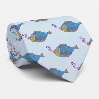 Bubbles the Blow Fish Tie