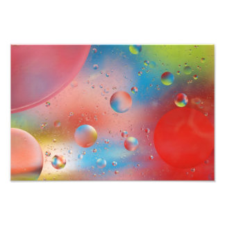 Bubbles Water Abstract Print
