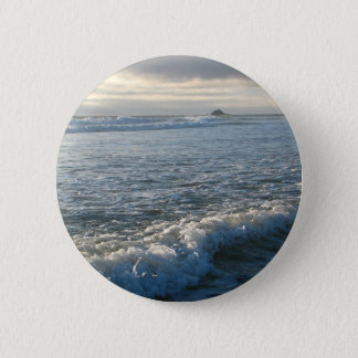 Bubbling Current 2 Inch Round Button