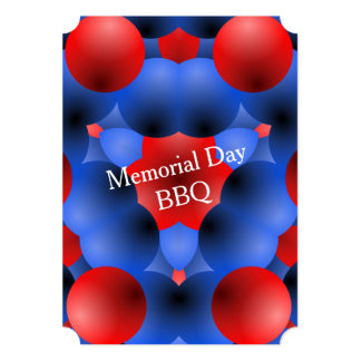 Bubbling Over Memorial Day Party Invitations