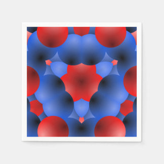 Bubbling Over Memorial Day Party Paper Napkins