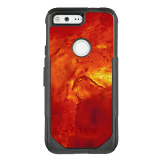 Bubbling Red Hot Lava OtterBox Commuter Google Pixel Case
