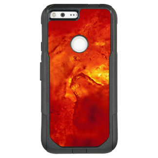 Bubbling Red Hot Lava OtterBox Commuter Google Pixel XL Case