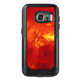 Bubbling Red Hot Lava OtterBox Samsung Galaxy S7 Case