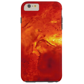 Bubbling Red Hot Lava Tough iPhone 6 Plus Case