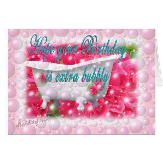 Bubbly Birthday-customizable Card