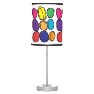 Bubbly Colors Table Lamp