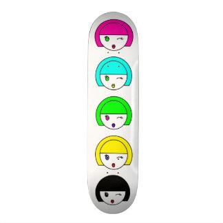 Bubbly Girl Sk8Board Skate Board