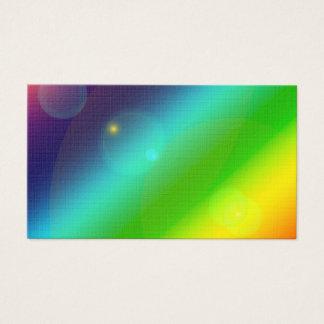 Bubbly Rainbow Business Card