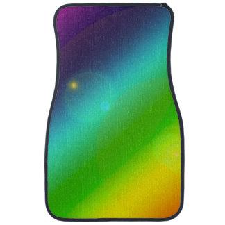 Bubbly Rainbow Car Mat