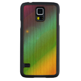 Bubbly Rainbow Cherry Galaxy S5 Slim Case