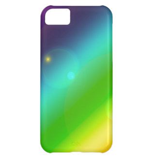 Bubbly Rainbow Cover For iPhone 5C