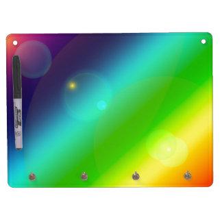 Bubbly Rainbow Dry-Erase Board