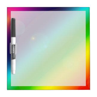 Bubbly Rainbow Dry-Erase Whiteboards