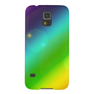 Bubbly Rainbow Galaxy S5 Cases