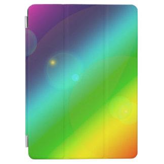 Bubbly Rainbow iPad Air Cover