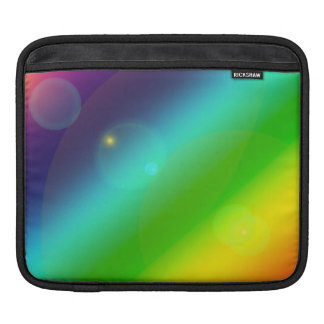 Bubbly Rainbow iPad Sleeve