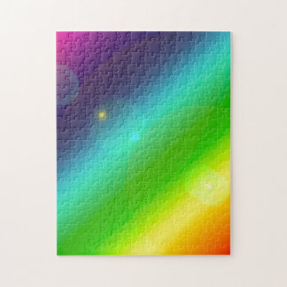 Bubbly Rainbow Jigsaw Puzzle