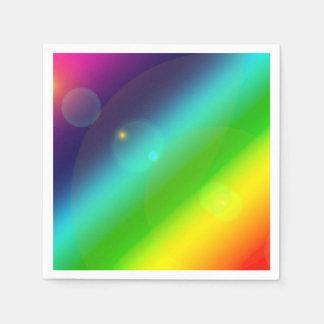 Bubbly Rainbow Paper Napkin