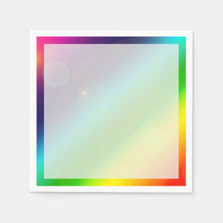 Bubbly Rainbow Paper Napkins