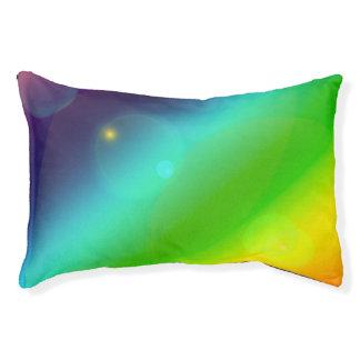 Bubbly Rainbow Pet Bed