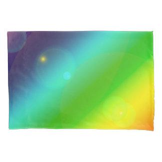 Bubbly Rainbow Pillowcase