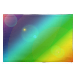 Bubbly Rainbow Placemat