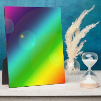 Bubbly Rainbow Plaque