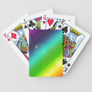Bubbly Rainbow Poker Deck