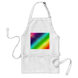 Bubbly Rainbow Standard Apron