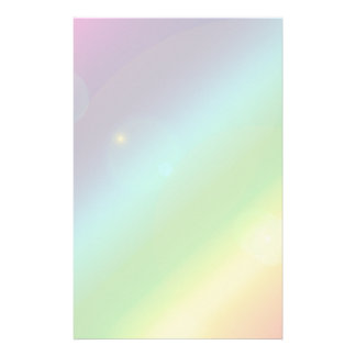 Bubbly Rainbow Stationery