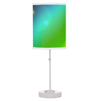 Bubbly Rainbow Table Lamp