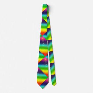 Bubbly Rainbow Tie