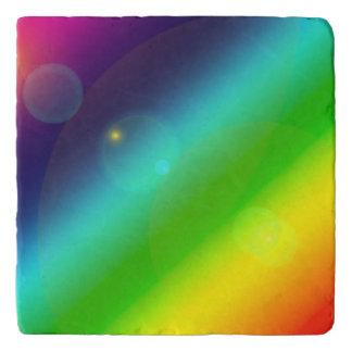 Bubbly Rainbow Trivet