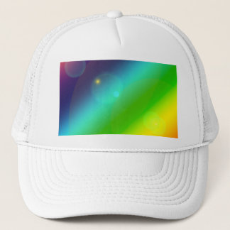 Bubbly Rainbow Trucker Hat