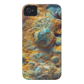 Bubbly Turquoise with Rusty Dust Case-Mate iPhone 4 Case