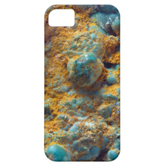 Bubbly Turquoise with Rusty Dust iPhone 5 Cases