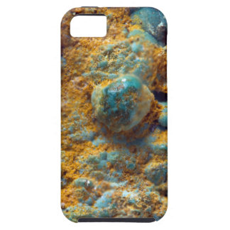 Bubbly Turquoise with Rusty Dust iPhone 5 Cover