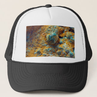 Bubbly Turquoise with Rusty Dust Trucker Hat