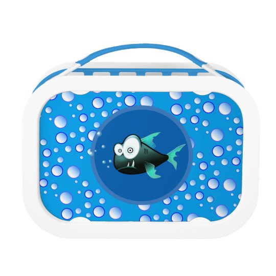 Bubbly Waters Fish Lunch Box