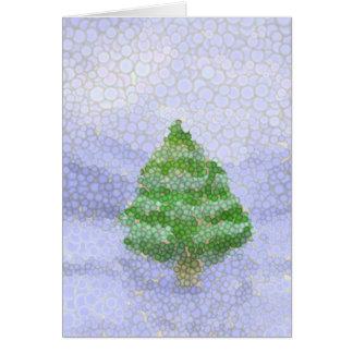 Bubbly Winter Scene Card