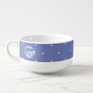 Bubbly's swimming with whale soup mug