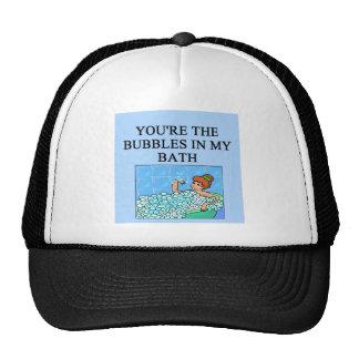 buble bath lovers trucker hat