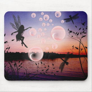Buble fairy Mousepad