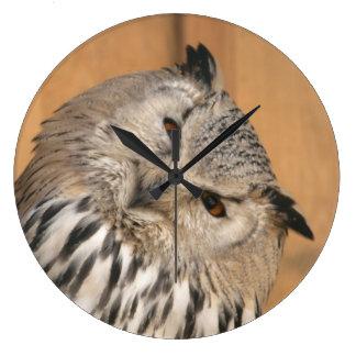 Bubo bubo sibiricus clock