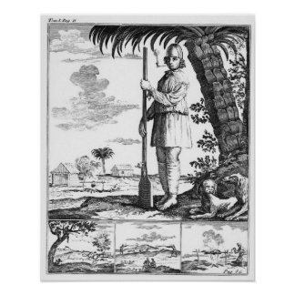 Buccaneer in the West Indies, 1686 Poster