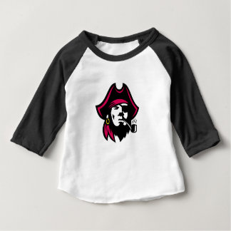 Buccaneer Smoking Pipe Retro Baby T-Shirt